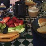El desayuno fue estupendo!!