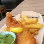Senior fish and chips