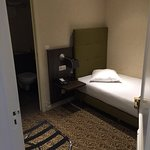 The room is very tiny, but it is enough for a short stay