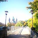 The bridge to the Lukas Church