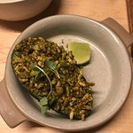 avocado with puffed rice