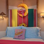 The colorful art and warmth of Mexico gives this room its name ... Mexican