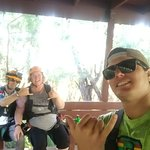 Everyone meet Alec! He was one of our cool Zipline guides
