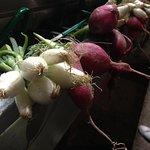 Green onions are delicious.