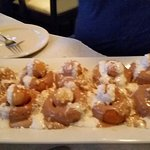 The donuts are to Die for!!!But so is he foid. Delicious Scallops and pasya!!!