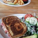 The General burger and the limited time Reuben with a small Martha salad.  Both excellent.