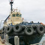 Ocean going salvage tug, (shades of Capt Bullwinkle)