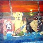 Dog Picture, Daiquiri Dick's, Puerto Vallarta, Mexico
