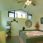 Eagle's Nest Room's Private Bathroom