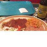 Tamales, beans, Rice, Rosa's Cafe & Tortilla Factory, Temecula, Ca