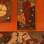 Mosaic mural from AOP