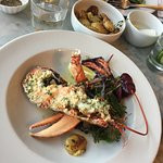 Garlic and herb 1/2 lobster