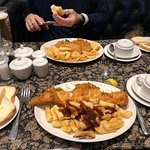 We came for the fish & chips and weren't disappointed