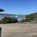 View over Merimbula Lake