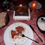 Murg Vindaloo ( very spice, very big portion and very good ) ( 13.90 Euro )