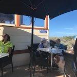 Bombora restaurant with indoor and outdoor seating