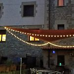 Jardin de casa rural Basaula en Navarra