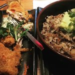 Fried chicken & Oxtail fried rice