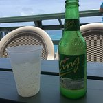 Nothing as relaxing as drinking a Ting on a Caribbean island