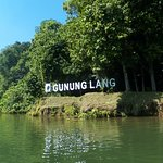 Gurung Lang viewed from the boat