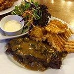 the beef steak