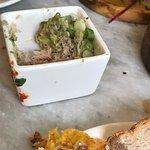 Crab and avo pot.