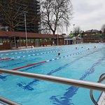 25 metre outdoor pool