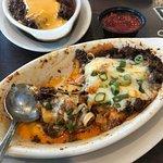 My delicious cheese enchiladas, sorry I ate some. B-]