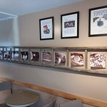 Wall Photos Showing Chocolate Process