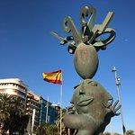 """Hermosa escultura de Juan Ripolles """"El adivinador"""""""