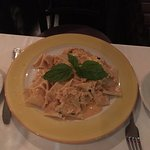 Tagliatelli with crab sauce