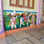 Paintings in village