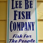 Lee Be Fish Sign