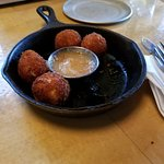 Fried pimento balls just perfect