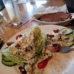 Beef brisket chop salad