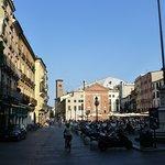 Padova, Piazza dei Signori e Chiesa di San Clemente
