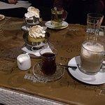 Tea and desserts in the Sevdah Arthouse in Sarajevo