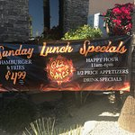 A little info on Sunday specials