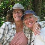 Happy canoe partners