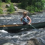 St.Croix River, Maine Canadian  border