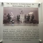 """Who knew the famous """"I Have a Dream"""" speech was first given in Rocky Mount?"""