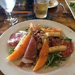 Italian Country table at Riondo's Restorante