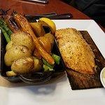 Cedar Plank Grilled Trout