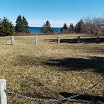 This is the Bayswater memorial site which is an hour away from Peggys cove