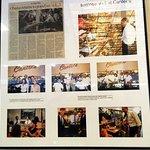 restaurant's photos of President Obama's visit