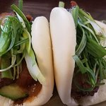 Pork Bao Buns, very good...