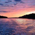 Beautiful sunsets on board M/V Bay Breeze of Chesapeake City Boat Tour. www.mvbaybreeze.com