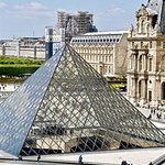 The Louvre in the 1st Arrondissement of Paris, France- deciccophoto.com