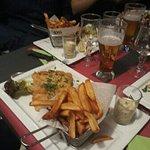 Nouvelle suggestion à la carte de la della spiaggia :fish and chips et ses frites maison.