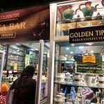 Golden Tips Tea Cosy